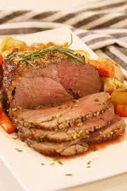 herb crusted top round roast video