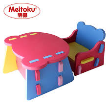 meitoku baby safety foam kids table and chair set in play mats from toys hobbies on aliexpress com alibaba group