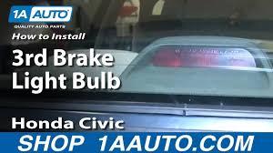 Third Brake Light Repair How To Replace 3rd Brake Light Bulb 92 00 Honda Civic