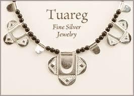 tuareg fine silver fair trade jewelry