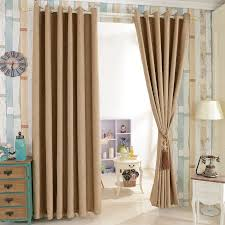 Pretty Curtains Living Room Furniture Healthy Cotton And Linen Living Room Colorful Window
