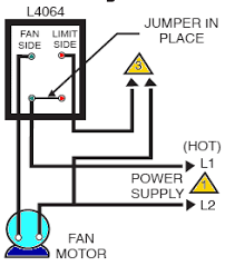 how to install and wire the honeywell l4064b combination furnace Furnace Wiring Diagram Older Furnace at Honeywell Furnace Wiring Diagram