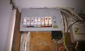 replace fuse box and electrical certificate electrical job in photographs