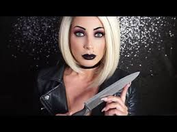 tiffany bride of chucky makeup tutorial