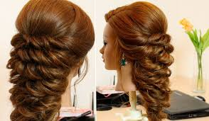 Wedding Hair Style Picture easy hairstyle for long hair tutorial youtube 8826 by wearticles.com