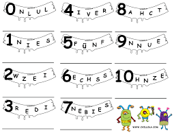 German For Kids Worksheets Printable Coloring Pages 12468 ...
