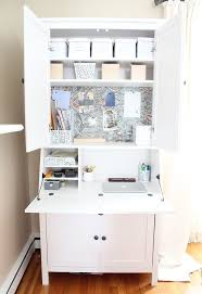 diy mirrored furniture. Diy Mirrored Secretary Desk, Painted Furniture