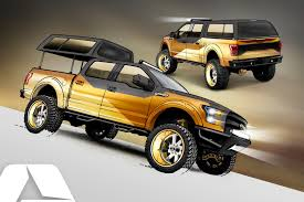 2016 golf standard ford f 150 project truck by a r e accessories could bring gold trucks
