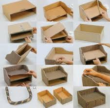 diy storage cardboard box