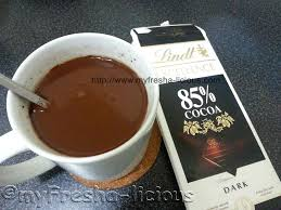 lindt hot chocolate drink