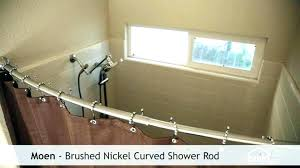 moen double curved shower rod curved shower rod curved shower rod curved shower curtain rod tension
