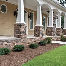 Great Faux Stone Siding. One Of The Many Updates I Plan To Do When We Get Our  Back Screen Porch Built. | 2 Acre Yard...so Much To Do | Porch, Faux Stone  Siding, ...