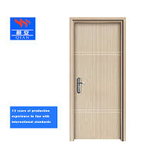 Latest Plywood Door Design Hot Item 2019 Popular Flush Design Interior Wooden Plywood Door With High Quality