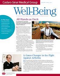 News Letters Patient Newsletters Cedars Sinai