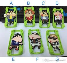 whole cartoon universal silicone per frame cartoon character case crayon shin chan nowara for iphone 6s 6 samsung s6 htc lg free dhl custom cell