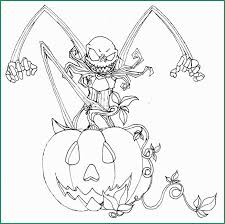 Coloring Pages Fantastic Nightmare Before Christmas Coloring Book