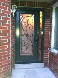 single front doors with glass avatar black door half black front door half glass