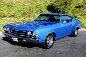custom 1969 Chevy Chevelle SS