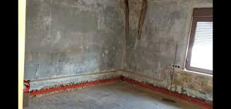 Eine fußbodenheizung verlegen zu lassen vom hersteller empfohlen: Heizungsrohre In 22cm Aussenwand Verlegt