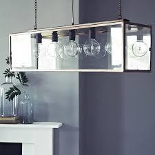 Rectangular Glass Pendant Lighting And Denton Five Bulb Box By Rowen Wren  Com With Original 800x800px