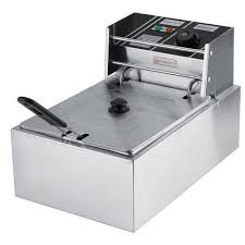 the urban kitchen 2300w 8l commercial electric countertop stainless steel deep fryer capacity 8ltr