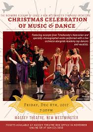 Christmas Concert Poster Christmas Concert Poster 2017 3 Massey Theatre