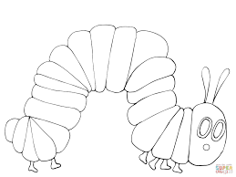 Small Picture Very Hungry Caterpillar Coloring Page At Coloring Pages glumme