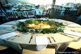 centerpiece for round table wedding