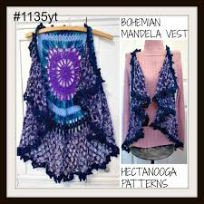 Crochet Mandala Vest Pattern Free Awesome Design Inspiration