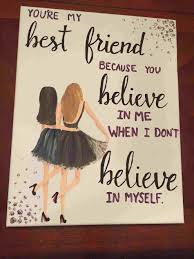 canvas e painting my sorority crafts rhcom canvas diy gift ideas for best friend e painting