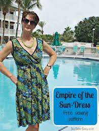 Sundress Patterns Best Sew A Pretty Summer Sundress Pattern So Sew Easy