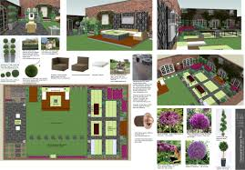 Small Picture Modren 3d Garden Design Here Is A For Ideas