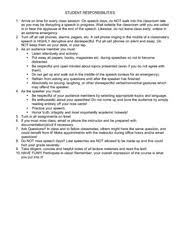 sample informative speech skateboarding adapted permission 1 pages speech student responsibilities