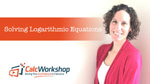 solving log equations in math ysis with calcwork