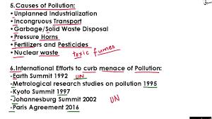 Essey Outline Essay Outline Pollution Part 2