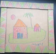 How To Make House With Chart Paper Best Out Of Waste 33 Easy Waste Material Craft Projects For