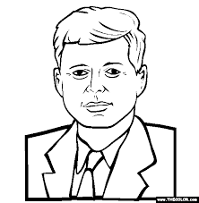 Small Picture coloring page 07 andrew jackson john f kennedy coloring page