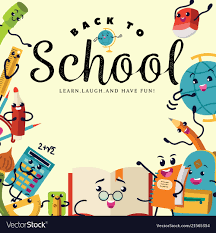 How To Design A Poster For School Back To School Poster Welcome Colorful Template