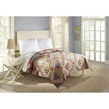 Clearance Bed Quilt & Essential Home Floral Diamond Quilt Adamdwight.com