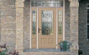 leaded glass entry doors with