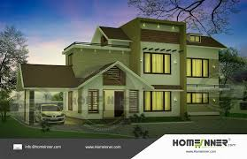 searching for 2300 sq ft house plans india then here is a beautiful indian home elevation design idea for a 4 bedroom two floor home design from the
