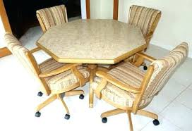 oak dining room chairs with casters rolling dining chair rolling dining chair dining room chairs with