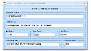 templates for raffle tickets in microsoft word create a ticket template