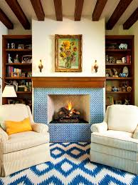 mexican tile fireplace 2017 spanish style surrounds original astleford interiors blue fireplace inspirations