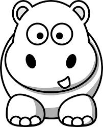 Hippo Coloring Pages Free Hippo Coloring Pages Print Free Hippo