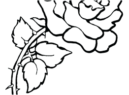 Free Coloring Book Pages Of Flowers Coloring Page Of A Flower Free