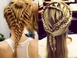 Denní Rychlé A Snadné účesy Pro Dívky S Dlouhými Vlasy