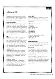 All About Myself Essay High School Essay About My Self