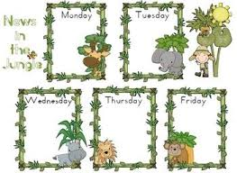 Chart Jungle Free News Chart Jungle Theme Classroom Poster 2 Pages