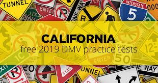 Dmv Eye Test Chart California Free California Dmv Road Signs Permit Practice Test 2019 Ca